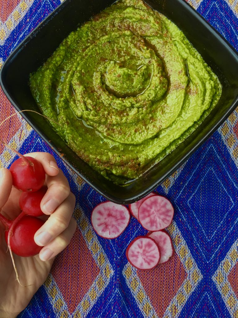 Spicy Kale Hummus
